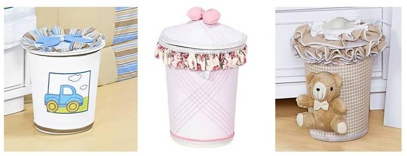 cesto de roupa suja é interessante que haja um cesto