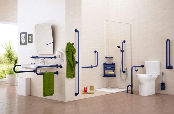 Banheiro adaptado para idosos  Design Direito -> Banheiro Pequeno Adaptado Para Idoso